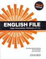 Рабочая тетрадь English File 3rd Edition Upper-Intermediate Workbook with keys