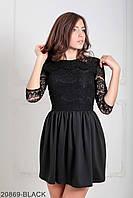 Жіноче плаття Gledis (20869-BLACK)