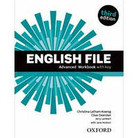 Рабочая тетрадь English File 3rd Edition Advanced Workbook with iChecker CD-ROM