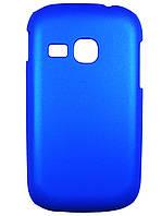 Чехол для Samsung s6312 Galaxy Young Duos синий