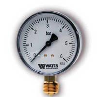 Манометр радиальный Watts F+R200 (D-63mm 0-6Bar)