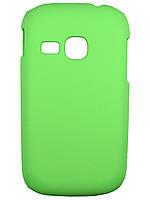 Пластиковый чехол для Samsung s6310 Galaxy Young зеленый