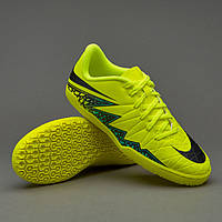 Детская футбольная обувь (футзалки) Nike Hypervenom Phelon II IC JR