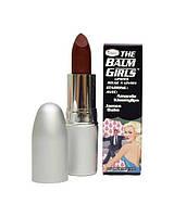The Balm Girls Lipsticks Amanda Kissmylips-Sheer Maroon Berry - Помада для губ, 4 г