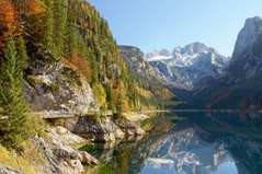 Пазл Касторленд 2000(368) Гірське озеро. Австрія, 92*68 см(Ч)