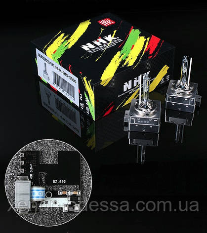 Лампа ксенон D1S 5500K NHK VIP Version (колбы Philips UV) / D1S 5500K NHK VIP Version (Philips raw UV tube), фото 2