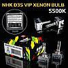 Лампа ксенон D3S 5500K NHK VIP Version (колбы Philips UV) / D3S 5500K NHK VIP Version (Philips raw UV tube)