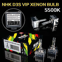 Лампа ксенон D3S 5500K NHK VIP Version (колбы Philips UV) / D3S 5500K NHK VIP Version (Philips raw UV tube)