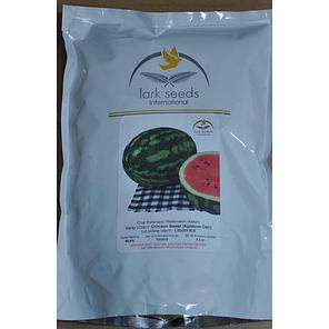 Семена арбуза Кримсон Свит/Lark seeds (500 г) — Скороспелый, среднеранний сорт с округлыми полосатыми плодами, фото 2