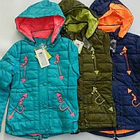 Куртка весенняя для девочки подростка SPEED.A