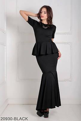Вечірнє чорне плаття-максі Ernel