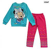Теплый костюм Minnie Mouse для девочки. 5 лет