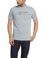 Мужская футболка LC Waikiki серого цвета с надписью SOUND OF ISTANBUL M