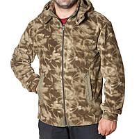 Теплая флисовая мужская куртка-кофта