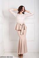 Жіноче плаття Adelis (20933-BEIGE)