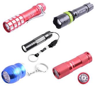Ліхтарики, лазерні вказівки, аксесуари