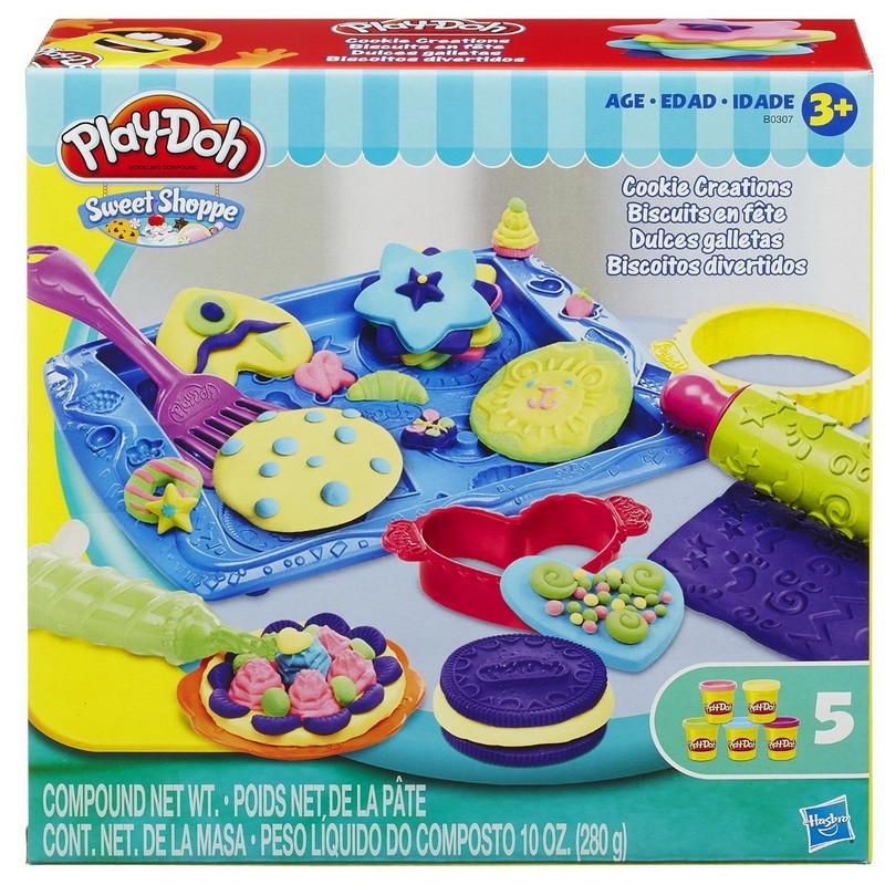 Пластилін Play-Doh Магазинчик печива (Пластилин Плей До Магазинчик печенья, Play-Doh Cookie Creations)