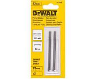 Ножи для рубанка, твердосплавные, 82 мм, 1комплект DeWALT DT3906