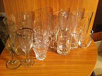 Бокалы стаканы стопки рюмки советские