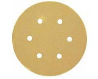 Самоклеющаяся шкурка d=150мм, зерно 80 (DW 443/ES56), HIGH-TECH DeWALT DT3133251