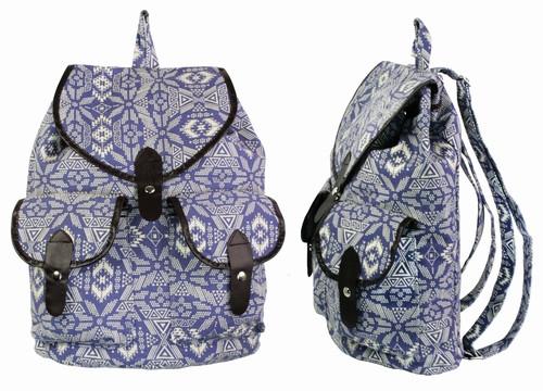 Подростковый рюкзак с узором