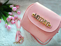 Лаковая сумка Moschino