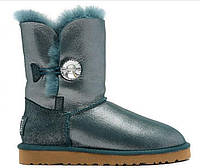 Сапожки UGG Bailey Button I DO! Sea Green Оригинал