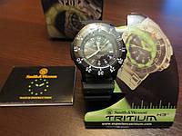 Наручные часы Smith & Wesson Tritium SWW-450BLK тритиевые, армейские, фото 1