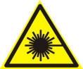 Знаки безопасности Лазерное излучение