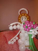 Ангел в цветочке воздушные шары, фото 1