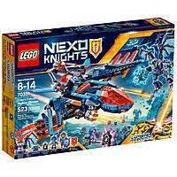 Конструктор LEGO Nexo Knights Самолёт-истребитель Сокол Клэя (70351)