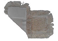 Моп хлопковый 40см с карманами для сухой и влажной уборки , фото 1