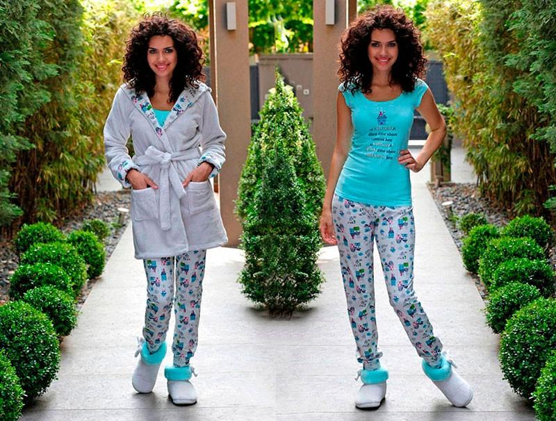 Жіночий костюм 3-ка для дому HAYS 6056 (L)