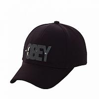 Бейсболка стильная черная Obey