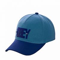 Бейсболка спортивная голубая Obey