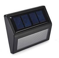 Светильник на солнечных батареях на стену, ступеньки  N765 влагозащищённый (IP55)
