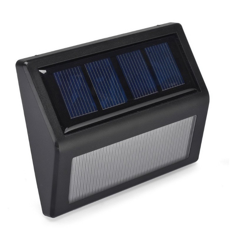 Светильник на солнечных батареях на стену, ступеньки 2491 1Вт влагозащищённый (IP55), фото 1