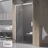 Душевая дверь Ravak Matrix MSD2-110 Satin L, фото 1