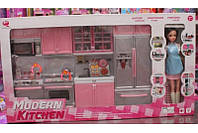 Игровой набор Кухня 26211P-D с куклой, фото 1
