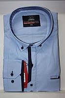 Мужская рубашка батальная Gold Milano