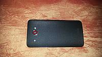 Декоративная защитная пленка для HTC Butterfly микро карбон черный