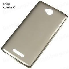 Чехол TPU для Sony Xperia C dual