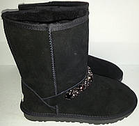 Угги женские зимние черные мод № 5825-0192 KARO