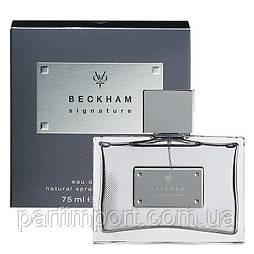 David Beckham Signature men edt 75 ml туалетная вода мужская (оригинал подлинник  Испания)