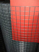 Сетка сварная оцинкованная, Ячейка 12х12 мм. Диаметр 1,3 мм.