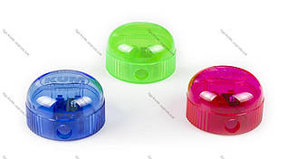 Чинка пластикова KUM 210K з контейнером кругла