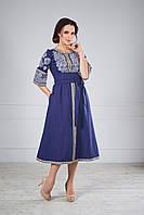 Стильна сукня вишиванка, фото 1