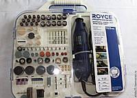 Шлифовальная машина, гравер, мини болгарка ROYCE RMG 330 (163 насадки)