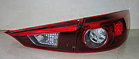 Mazda 3 Axela тюнинг фонари задние красные