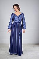 Сукня вишита довга, фото 1